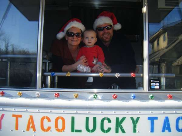 The old taco truck days!